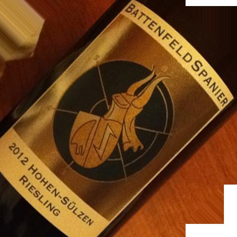 BattenfeldSpanier - Hohen-Sülzen Riesling - 2012