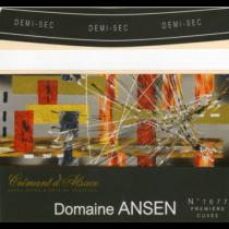 Domaine Ansen Cremant d'Alsace AOP (Demi Sec)