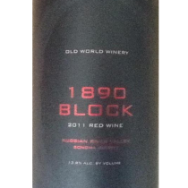 Old World Winery 1890 Block