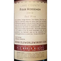 Old World Winery Four Horsemen