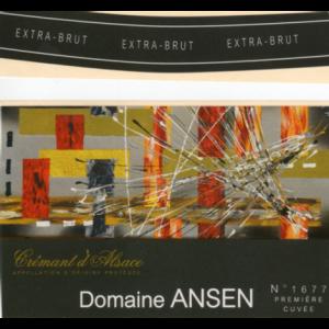 Domaine Ansen Cremant d'Alsace AOP (Extra Brut)